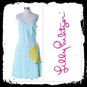 Lilly Pulitzer Striped Sunflower Dress